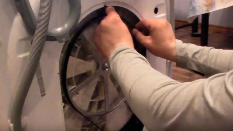 Замена подшипника в стиральной машине атлант своими руками 12