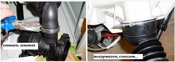 Ремонт стиральной машины нет слива воды