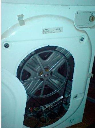 Замена подшипников в стиральной машине индезит своими
