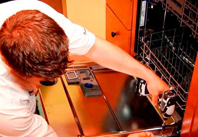 Ремонт посудомоечная машина своими руками фото