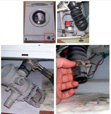 Как прочистить сливную трубу в стиральной машине