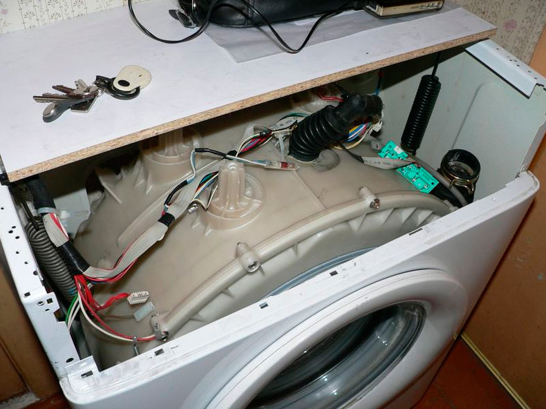 Стук и шум в стиральной машине при отжиме – основные причины