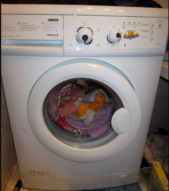 Отзыв о стиральной машине Zanussi ZWO2106W